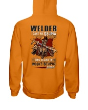 Welder: I can fix what stupid does Hooded Sweatshirt tile