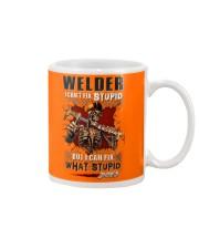 Welder: I can fix what stupid does Mug tile