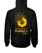 Love my llife as a Plumber's wife  Hooded Sweatshirt thumbnail