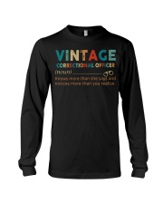 Vintage Correctional Officer Long Sleeve Tee thumbnail