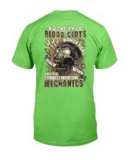 Strongest men become Mechanics Classic T-Shirt back