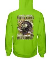 Strongest men become Mechanics Hooded Sweatshirt thumbnail
