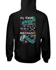 My knight is shining armor is my Mechanic Hooded Sweatshirt thumbnail