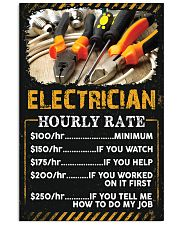 Awesome Electrician's 11x17 Poster front