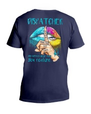 Dispatcher Notices more than you realize V-Neck T-Shirt thumbnail