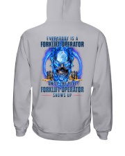 Until the real Forklift Operator shows up Hooded Sweatshirt thumbnail