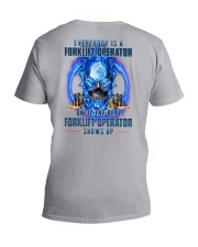 Until the real Forklift Operator shows up V-Neck T-Shirt thumbnail