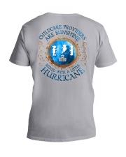 Childcare Providers:sunshine mixed with hurricane V-Neck T-Shirt thumbnail