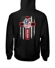 Proud American Welder Flag Hooded Sweatshirt thumbnail