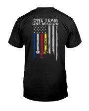 One Team One Mission Tow Truck Operator Classic T-Shirt back