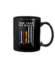 One Team One Mission Tow Truck Operator Mug tile