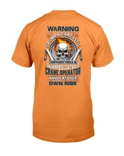 Crane Operator: Annoy at your own risk  Premium Fit Mens Tee thumbnail