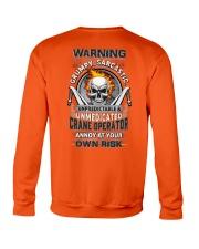 Crane Operator: Annoy at your own risk  Crewneck Sweatshirt thumbnail
