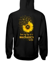 Love my life as a Mechanic's wife Hooded Sweatshirt thumbnail