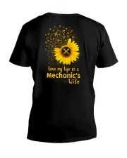 Love my life as a Mechanic's wife V-Neck T-Shirt thumbnail