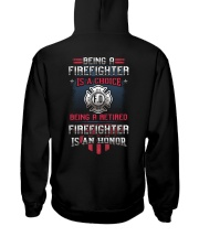 Being a Retired Firefighter is an Honor Hooded Sweatshirt thumbnail