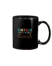 Vintage Postal Worker Mug tile