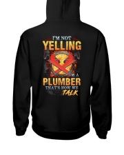 I am not yelling that's how Plumber's talk Hooded Sweatshirt thumbnail