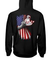Welder US Flag Hooded Sweatshirt back