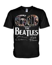 beatles V-Neck T-Shirt thumbnail
