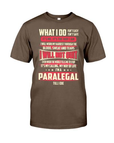 T SHIRT PARALEGAL