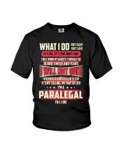 T SHIRT PARALEGAL Youth T-Shirt thumbnail