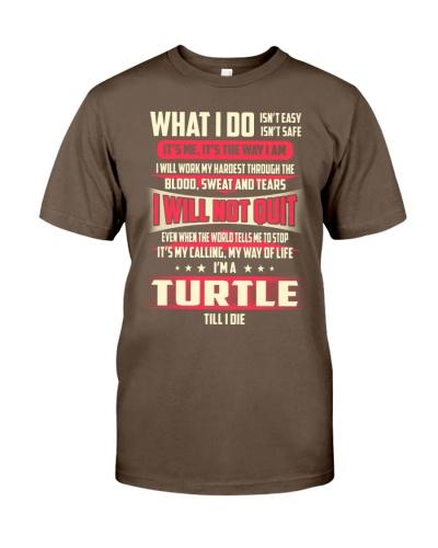 T SHIRT TURTLE