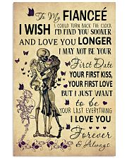 Skull To My Fiancee Could Turn Back The Clock 11x17 Poster front
