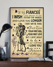 Skull To My Fiancee Could Turn Back The Clock 11x17 Poster lifestyle-poster-2