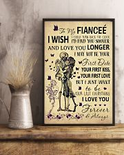 Skull To My Fiancee Could Turn Back The Clock 11x17 Poster lifestyle-poster-3