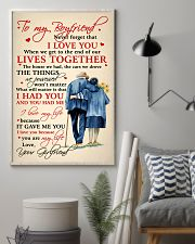 Family To My Boyfriend Lives Together 11x17 Poster lifestyle-poster-1