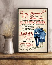 Family To My Boyfriend Lives Together 11x17 Poster lifestyle-poster-3