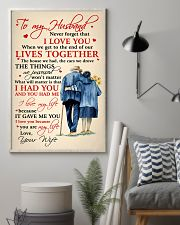 Family To My Husband Lives Together 11x17 Poster lifestyle-poster-1