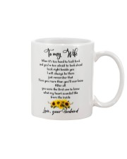 Famlily To My Wife I Will Always Be There Mug front