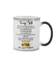 Famlily To My Wife I Will Always Be There Color Changing Mug thumbnail