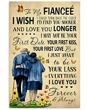 Family To My Fiancee I Could Turn Back The Clock 11x17 Poster front