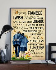 Family To My Fiancee I Could Turn Back The Clock 11x17 Poster lifestyle-poster-2