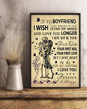 Skull To My Boyfriend Could Turn Back The Clock 11x17 Poster lifestyle-poster-3