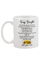 Famlily To My Daughter I Will Always Be There Mug back
