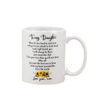 Famlily To My Daughter I Will Always Be There Mug front
