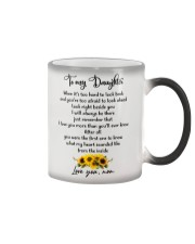 Famlily To My Daughter I Will Always Be There Color Changing Mug thumbnail
