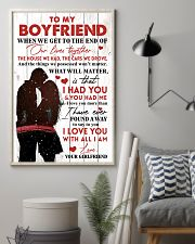 Family To My Boyfriend When We Get To The End 11x17 Poster lifestyle-poster-1