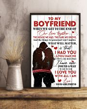 Family To My Boyfriend When We Get To The End 11x17 Poster lifestyle-poster-3