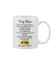 Famlily To My Fiancee I Will Always Be There Mug front