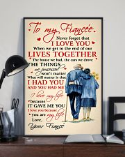 Family To My Fiancee Lives Together 11x17 Poster lifestyle-poster-2