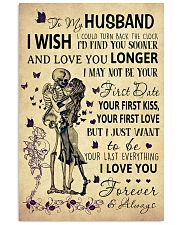 Skull To My Husband Could Turn Back The Clock 11x17 Poster front