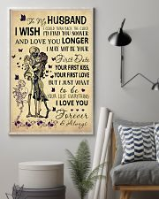 Skull To My Husband Could Turn Back The Clock 11x17 Poster lifestyle-poster-1
