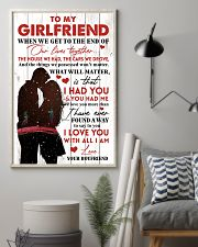 Family To My Girlfriend When We Get To The End 11x17 Poster lifestyle-poster-1