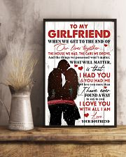 Family To My Girlfriend When We Get To The End 11x17 Poster lifestyle-poster-3