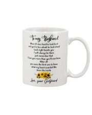 Famlily To My Boyfriend I Will Always Be There Mug front